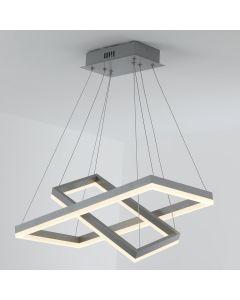 Solax LED Deckenleuchte aus Metall Grau