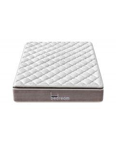 Bedream Deluxe Taschenfederkernmatratze mit Memoryschaum 140x190cm
