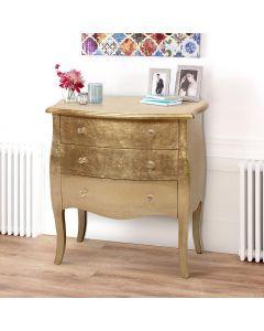 Classico Kommode aus lackiertem Holz Rosé Gold