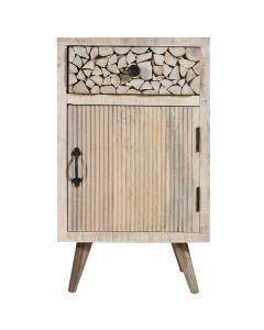 Corel Nachttisch aus Akazienholz
