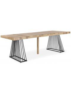 Factory Ausziehbarer Tisch aus Holz Sonoma
