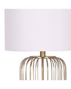 Elysium Tischlampe Weiß und Gold
