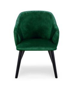 Liberto Set mit 2 Sesseln mit Samtbezug Grün