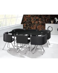 Mosaik Essgruppe XL Schwarz