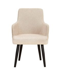Neiva Set mit 2 Sesseln, Stoffbezug Beige