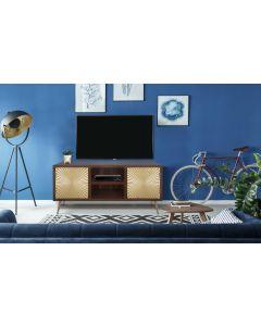 Solaris TV-Schrank aus Holz mit Gold Verzierungen