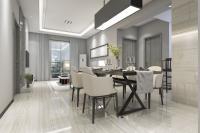 Wie können Sie Ihr Wohn- und Esszimmer im selben Raum in Einklang bringen?